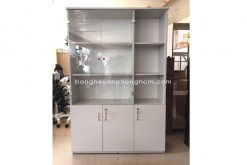 Tủ hồ sơ kính gỗ công nghiệp MFC